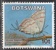 Botswana, 2007 - 10t Butterfly - Nr.843 Usato° - Botswana (1966-...)