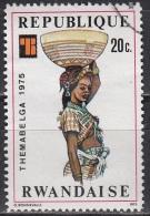 Ruanda, 1975 - 20c Basket Carrier - Nr.705 Usato° - Rwanda