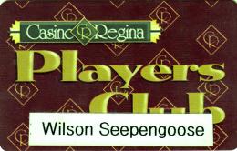 Regina Casino - Player's Club - Canada