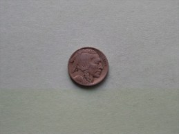 1917 - Five Cents / KM 134 ( Uncleaned - For Grade, Please See Photo ) ! - Federal Issues