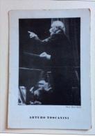 Arturo Toscanini Non Viaggiata F.g. - Personaggi Storici