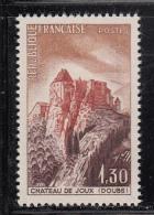 France MNH Scott #1112 1.30fr Joux Chateau - France