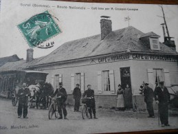 SOREL ROUTE NATIONALE CAFE TENU PAR M. CRAMPON-CRAMPON - France