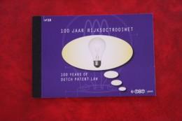 100 Jaar Rijksoctrooiwet Prestige Boekje Prestigeboekje Nr 28 PR28 2010 - POSTFRIS / MNH / ** Nederland Netherlands - Carnets Et Roulettes