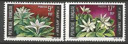 POLYNESIE  N�  64 / 65 NEUF** LUXE  SANS CHARNIERE / MNH