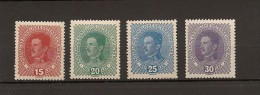 Austria/�sterreich 1917 Postfrisch/MNH/**  ANK 221 - 224 Kaiser Karl I