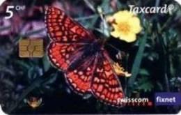 Schweiz - CP151 A - Marsh Fritillary (Euphydrias Aurinia) - Butterfly - WWF - 02/2007 - 530.000ex. - Schweiz