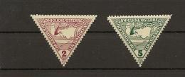 Austria/�sterreich 1916 Postfrisch/MNH/**  ANK 217 - 218 Eilmarken  Merkurkopf