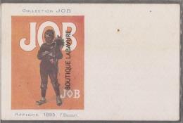 COLLECTION JOB Cigarettes----Affiche 1895--Ramoneur--Illustrateur F-BOUISSET- - Autres Illustrateurs