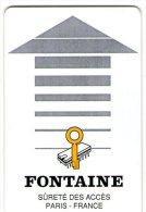FONTAINE - Francia - Chiavi Elettroniche Di Alberghi