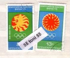 Bulgaria / Bulgarie 1973 Olympic Congress –Varna 2v.- Used/oblit.(O) - Gebraucht