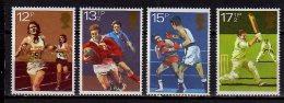 1980 Uk/ Grossbritanien - Anniversaries: 100 Wales Rugby Un, 100 Years Light Athtletics, Box, Etc - 4v - MNH** MI 850/3 - Rugby
