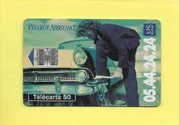 F0487 PEUGEOT ASSISTANCE VERTE 50U SOLAIC SC7 07/94 - Voitures
