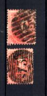 Curiosité Timbre Plus étroit  16 Ø  ( Cachet à Barres), Cote 80 € - 1863-1864 Medallions (13/16)