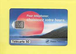 F0526 SOLEIL ROUGE AVANTAGES HORAIRES 50 SC5  11/94 - Voitures