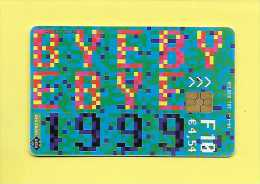 KPN Telecom BYE BYE 1999 HELLO MILLENIUM YEAR 2000  F10 01/01/04 - Pays-Bas