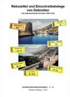 Rekozettel Und Einschreibebelege Von Dalmatien 1886 - 1918 - Philatelie Und Postgeschichte