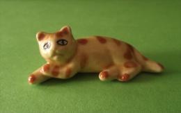 Figurine Chat Céramique - Animaux