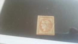 LOT 259471 TIMBRE DE FRANCE OBLITERE N�43B VALEUR 100 EUROS DEPART A 1 €