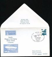 BERLIN PU58 D2/003d Privat-Umschlag ZEPPELIN Sost. 1975  NGK 10,00 € - Sobres Privados - Usados