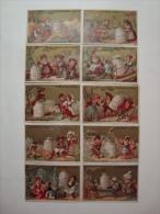 Liebig - Scènes Populaires - Série S.76 -1878 - Série Complète De 12 Chromos En TTBE - RR - Cote élevée (lot21) - Liebig