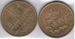 FRANCIA FRANCE 10 FRANCS FRANCOS 1975 - Francia