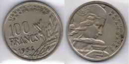 FRANCIA FRANCE 100 FRANCS FRANCOS 1954 - Francia