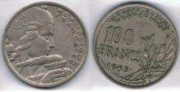 FRANCIA FRANCE 100 FRANCS FRANCOS 1955. A - Francia