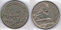 FRANCIA FRANCE 100 FRANCS FRANCOS 1955. B - Sin Clasificación