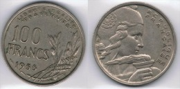 FRANCIA FRANCE 100 FRANCS FRANCOS 1955. B - Francia