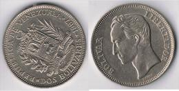 VENEZUELA 2 BOLIVAR  1967. A - Sin Clasificación