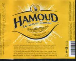 Etiquette Hamoud Boualem- LA GAZOUZ BLANCHE - Otros