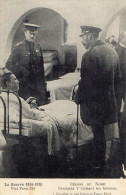 CARTE POSTALE  Régions Du Nord.Georges V Visitant Les Blessés   M - War 1914-18