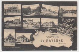 332 _ 53 - SOUVENIR DE MAYENNE . SCANS RECTO VERSO - Mayenne