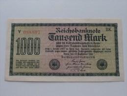 ***** 1000 Tausend MARK - N° V 088807 / 088808 / 088809 / 088810 ***** !!! ( For Grade, Please See Photo ) ! - [ 3] 1918-1933 : Repubblica  Di Weimar