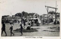 62 MERLIMONT PLAGE   La Plage Très Animée ;Patronnage Robinson - France