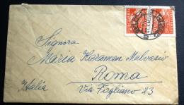JUGOSLAVIA 1948 - VIAGGIATA CON COPPIA 2,50 - Covers & Documents