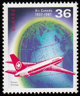 CANADA - Scott #1145 Air Canada 50th Anniv. / Mint NH Stamp - 1952-.... Reign Of Elizabeth II