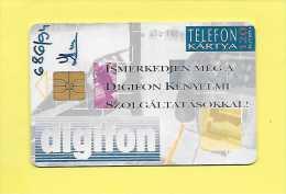 120 EGYSEG  SOLAIC S02 1993 TELEFON KARTYA Digifon USED - BE - Hongrie