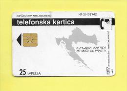 25  IMPULSA SOLAIC S02 1997 ( Usluge Inteligentne Mreze) TELEFONSKA Kartica USED - BE - Croatie