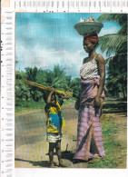 REPUBLIQUE   DE LA  COTE  D  IVOIRE   -   ABIDJAN   -  Scène Typique à   VRIDI - Côte-d'Ivoire