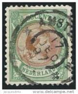 Nederland              NVPH     45           O                  Gebruikt - Periode 1891-1948 (Wilhelmina)
