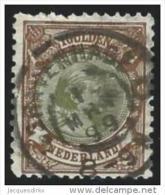 Nederland              NVPH     46           O                  Gebruikt - Period 1891-1948 (Wilhelmina)