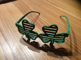 """Lunettes Fantaisie Adulte """"trèfle"""" - Glasses"""