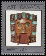 CANADA - Scott #1241 Ceremonial Frontlet Worn Boy Tsimshian Indian Chiefs / Mint NH Stamp - 1952-.... Reign Of Elizabeth II