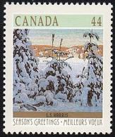 CANADA - Scott #1257 Christmas '89, Snow II By Albert H. Robinson / Mint NH Stamp - 1952-.... Reign Of Elizabeth II