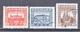 DENMARK    156-8   (o) - Used Stamps