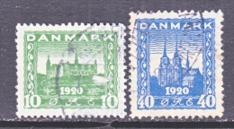 DENMARK    159-60   (o) - Used Stamps
