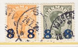 DENMARK    161-2   (o) - 1913-47 (Christian X)
