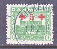 DENMARK    B 1   (o)   RED  CROSS - Used Stamps